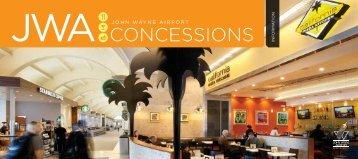 John Wayne Airport Concessions Guide