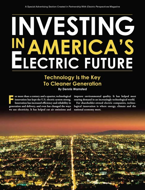 Investing in America's Electric Future - Forbes Special Sections