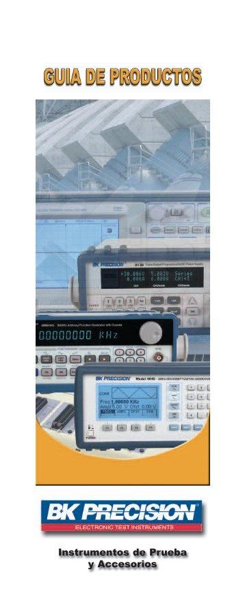 Instrumentos de Prueba y Accesorios - BK Precision