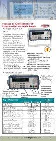 Instrumentos de Prueba y Accesorios - BK Precision - Page 3