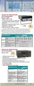 Instrumentos de Prueba y Accesorios - BK Precision - Page 7