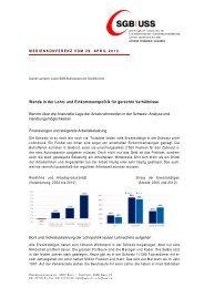 Wende in der Lohn- und Einkommenspolitik für gerechte ... - SGB