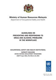 Ministry of Human Resources Malaysia - Dosh
