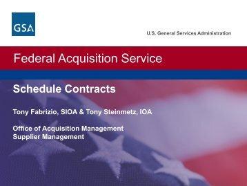 Federal Acquisition Service Presentation - New Hampshire Division ...
