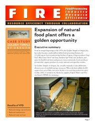 Golden Temple Natural Foods - Northwest Food Processors ...