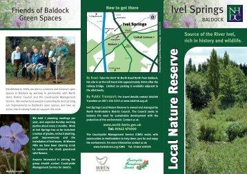 Download a pdf of the leaflet - Partnerships