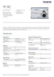 FE-150, Olympus, Compact Cameras