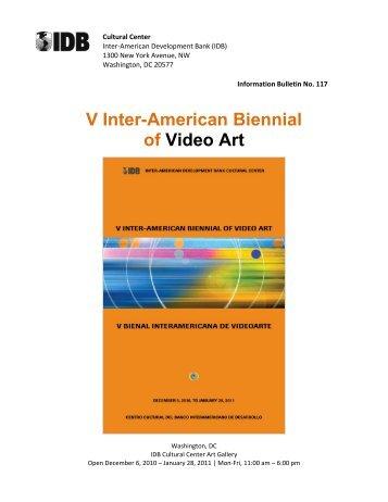V Inter-American Biennial of Video Art - Galleries Magazine