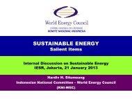 The 3rd ASEAN Energy Outlook - IESR