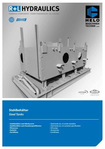 Stahlbehälter Steel Tanks - TROMA-MACH sro