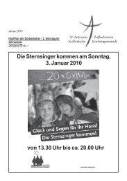 Gottesdienste - Sankt-antonius-online.de