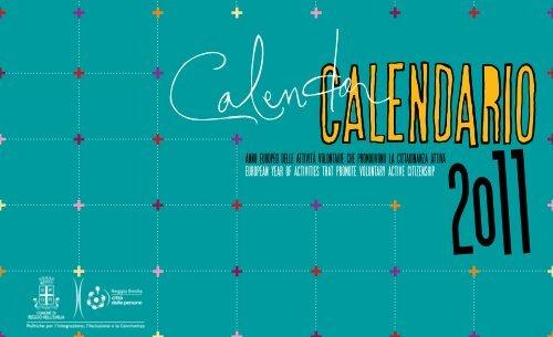 Calendario 2011.pdf - Comune di Reggio Emilia
