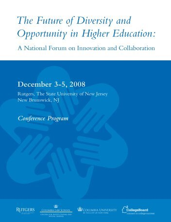 The Future of Diversity and Opportunity in Higher Education