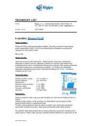 TL- Rimano Plus - Rigips