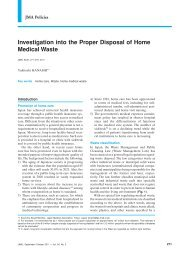 Investigation into the Proper Disposal of Home Medical Waste