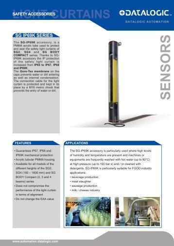 SG-IP69K Mounting Tubes.pdf - Datasensor