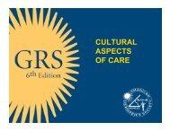 CULTURAL ASPECTS OF CARE - CornellCARES.com