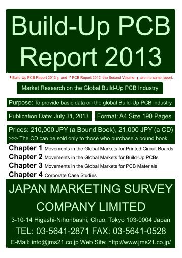 Build-Up PCB Report 2013