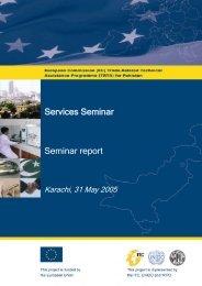 Seminar report Services Seminar - TRTA i