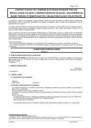 contrat d'achat de l'energie electrique produite par les instal