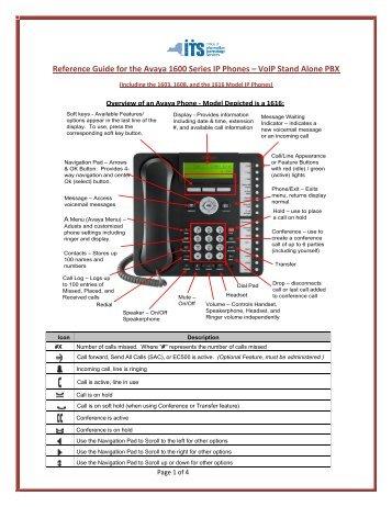 Ip Phone 1616 i Manual