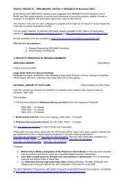 DIGITAL PROJECTS – PRELIMINARY LISTING 11 (BRICMICS 29 ...