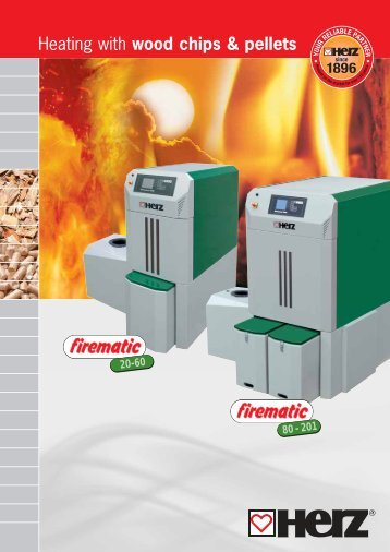 Heating with wood chips & pellets