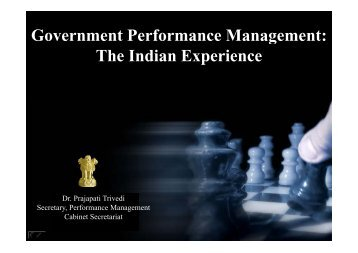 Government Performance Management: Government Performance ...