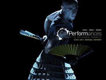 2010–2011 ANNUAL REPORT - Cal Performances