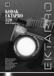 KODAK EKTAPRO 320 Slide Projector