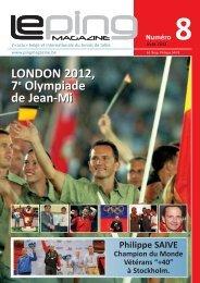 internationale - European Table Tennis Union