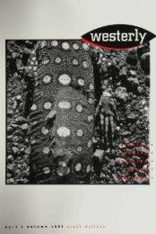 Westerly+Vol.+42+no.+1