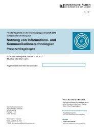 IKT - Personenfragebogen [Download,*.pdf, 1,04 MB] - Statistisches ...