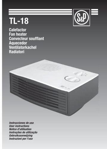 Instruzioni TL 18 - Soler & Palau
