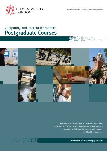 Computing and Information Science Postgraduate Courses