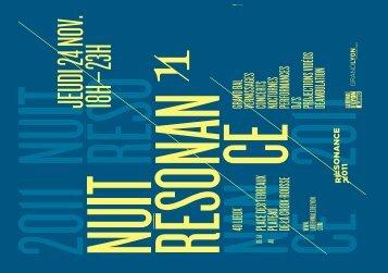 Téléchargez le programme - Biennale de Lyon