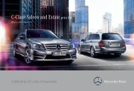 C-Class Saloon and Estate price list - Mercedes-Benz UK