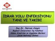 kronik böbrek hastalığında tedavi - Başkent Üniversitesi Adana ...
