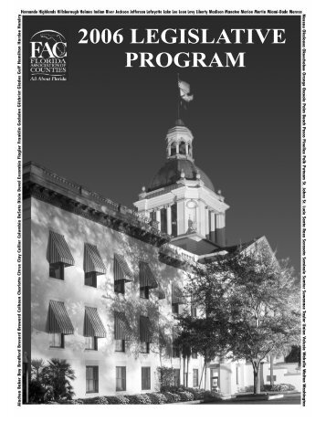 2006 Legislative Program - Florida Association of Counties