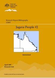 Jagera People #2 - National Native Title Tribunal