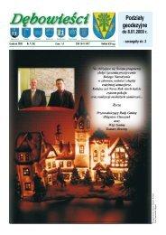 Dębowieści, grudzień 2008 - Dębowiec, Urząd Gminy