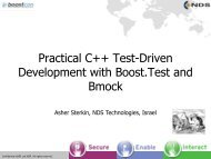 Practical C++ Test-Driven Development with Boost.Test and Bmock