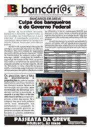 greve 07/10 - Sindicato dos Bancários do Maranhão