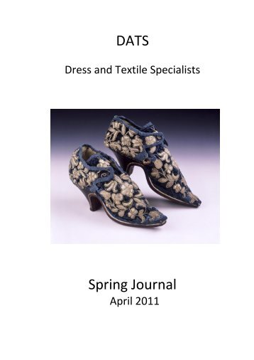 DATS Spring Journal - Dress and Textile Specialists