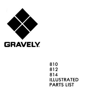 810 812 814 illustrated parts list oct 15 1973 gravely tractor club?quality\\\=80 gravely 19 hp 991002 wire diagrams wiring diagrams gravely commercial 12 wiring diagram at mifinder.co