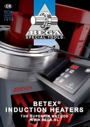 BETEX® INDUCTION HEATERS - Bega Special Tools