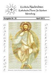 Ausgabe Nr. 35, April 2013 ( PDF -Datei, 1,1 MB) - Katholische ...