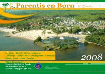 Guide 2008 des Locations (pdf) - Ville de Parentis en Born