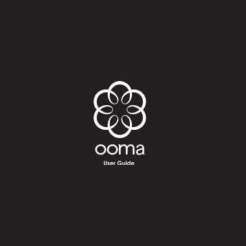 User Guide - Ooma