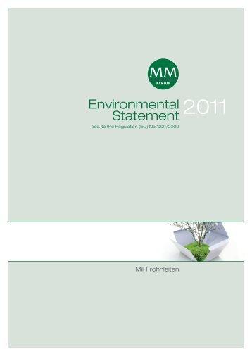 Environmental Statement - MM Karton